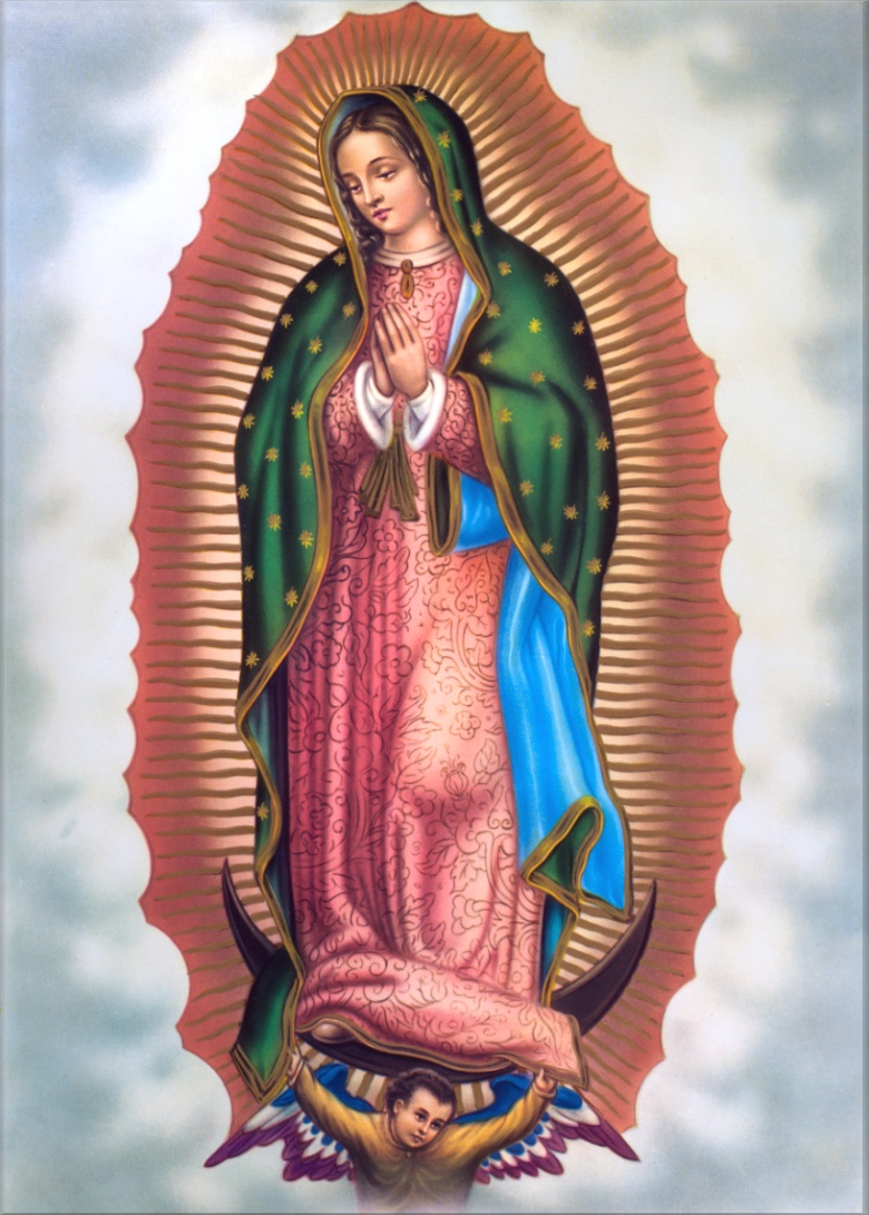 12 - DECEMBER Our Lady of Guadalupe