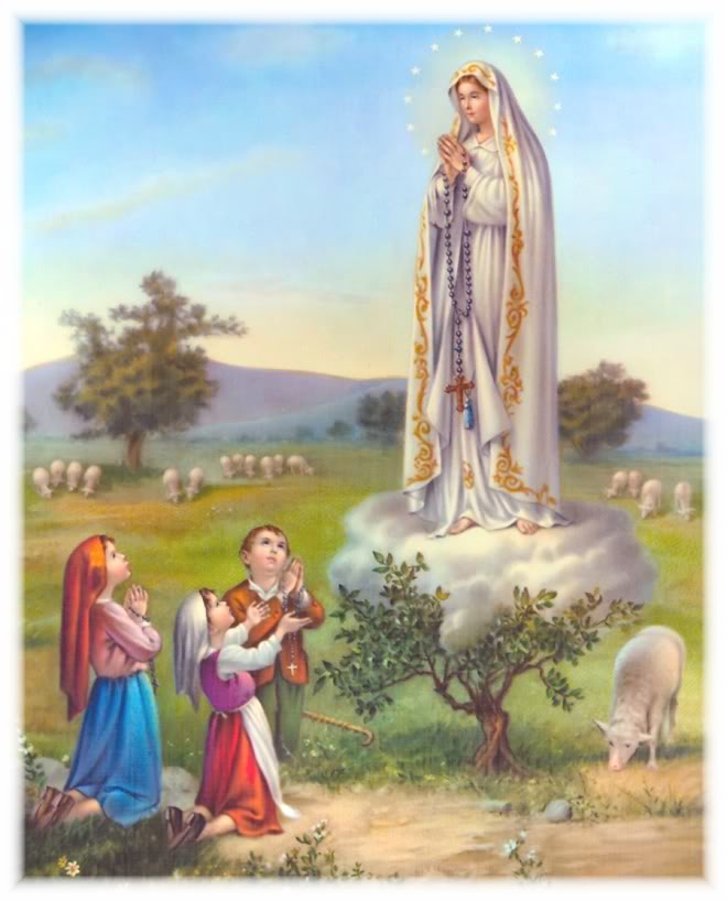5 - MAY Our Lady of Fatima