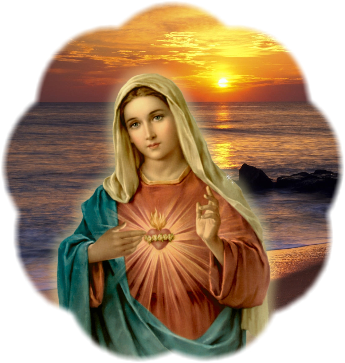6 - JUNE  Immaculate Heart of Mary
